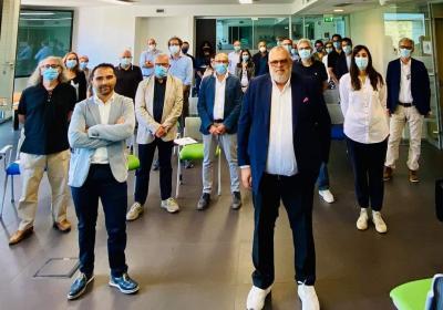 L'Assessore regionale Fioroni e Fortunato Bianconi, nuovo Amministratore di Umbria Digitale